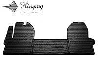 Автоковры для IVECO Daily VI 2014- Комплект из 3-х ковриков Черный в салон