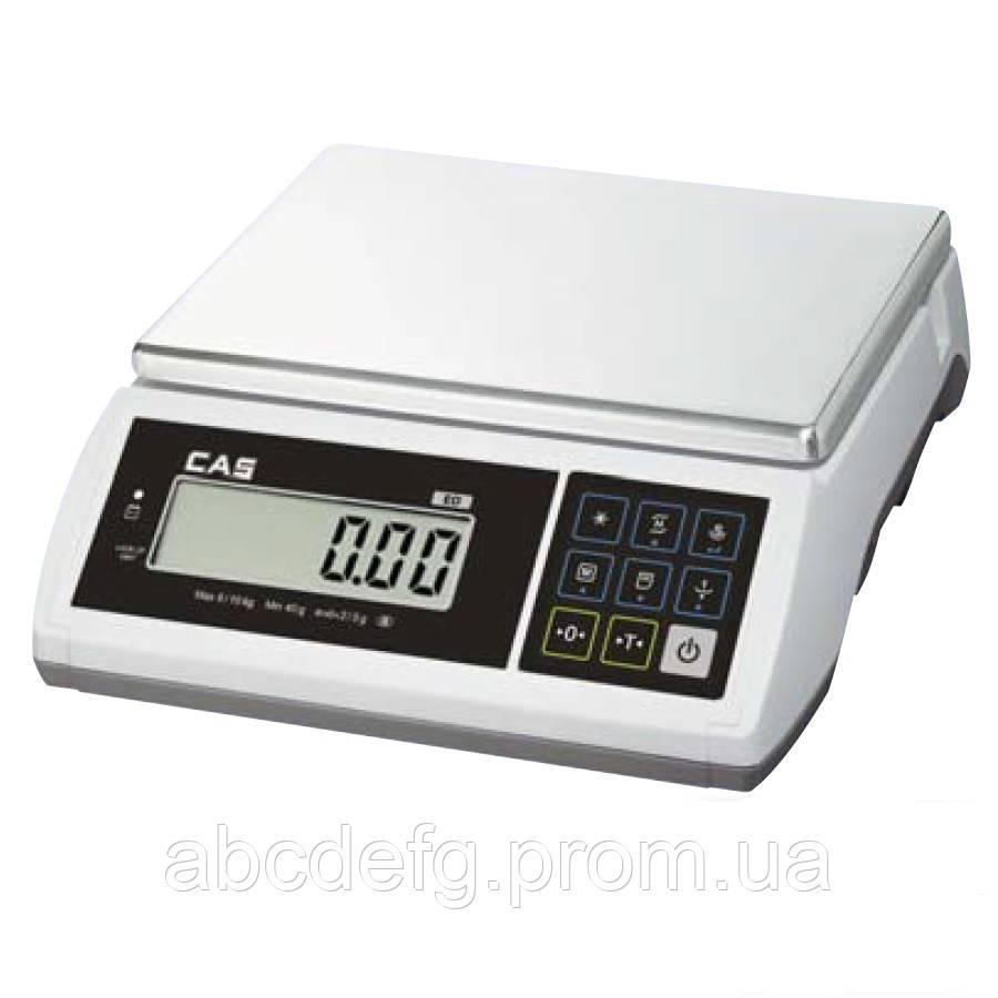 Весы настольные фасовочные CAS ED