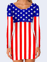 Платье USA flag