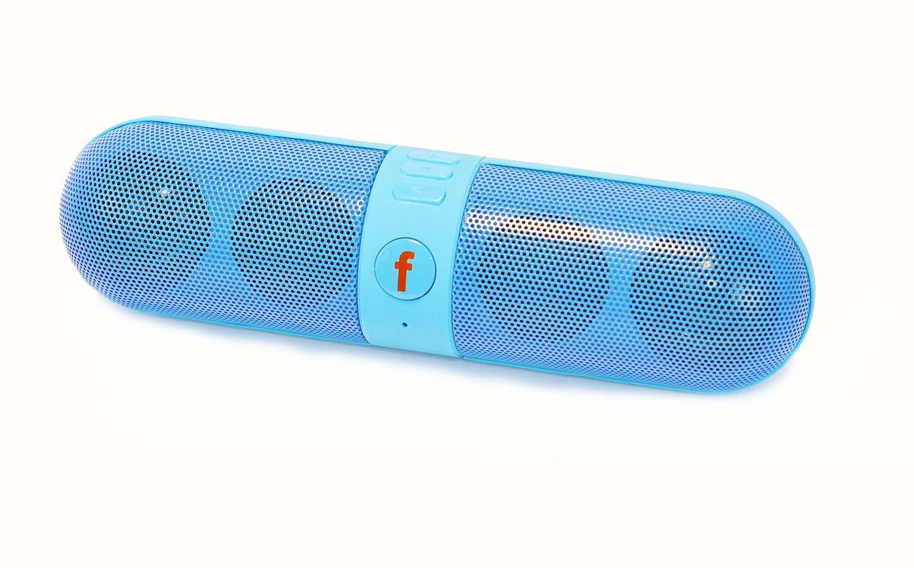 Беспроводная колонка  Bluetooth BT-B6 Blue