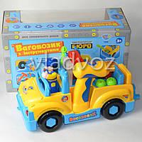 Детская игрушечная машинка для детей набор инструментов шуруповерт игрушка конструктор
