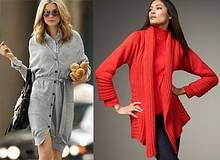 Туники, свитера, кофты, кардиганы, пиджаки, свитшоты с 44 по 52