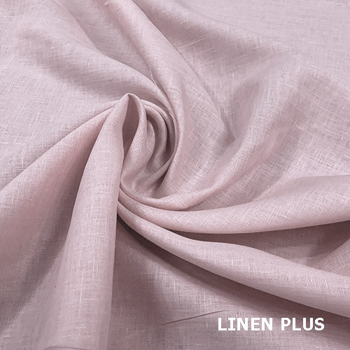 Ніжно рожева лляна тканина 100% льон колір 505