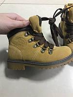 Детские замшевые ботинки под Timberland, фото 1