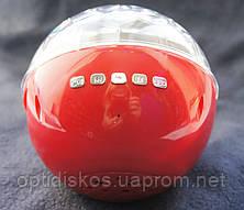 Bluetooth портативная колонка, MP3 плеер, диско-шар, YPS-D108, красная, фото 2