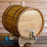 Жбан дубовый для напитков Seven Seasons™, 15 литров