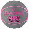 Баскетбольный мяч Spalding NBA Highlight 4her Gray р. 6