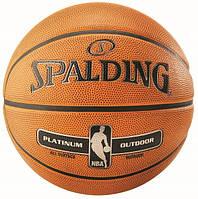 Баскетбольный мяч Spalding NBA Platinum Outdoor р. 7 (30 01531 01 2037)