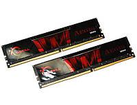 Память 16Gb x 2 (32Gb Kit) DDR4, 2133 MHz, G.Skill Aegis, 15-15-15-36, 1.2V (F4-2133C15D-32GIS)