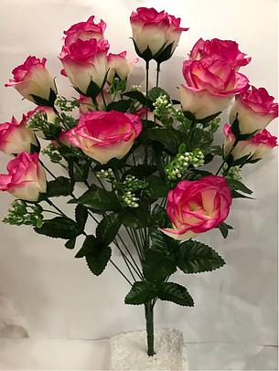 Искусственный букет роза., фото 2