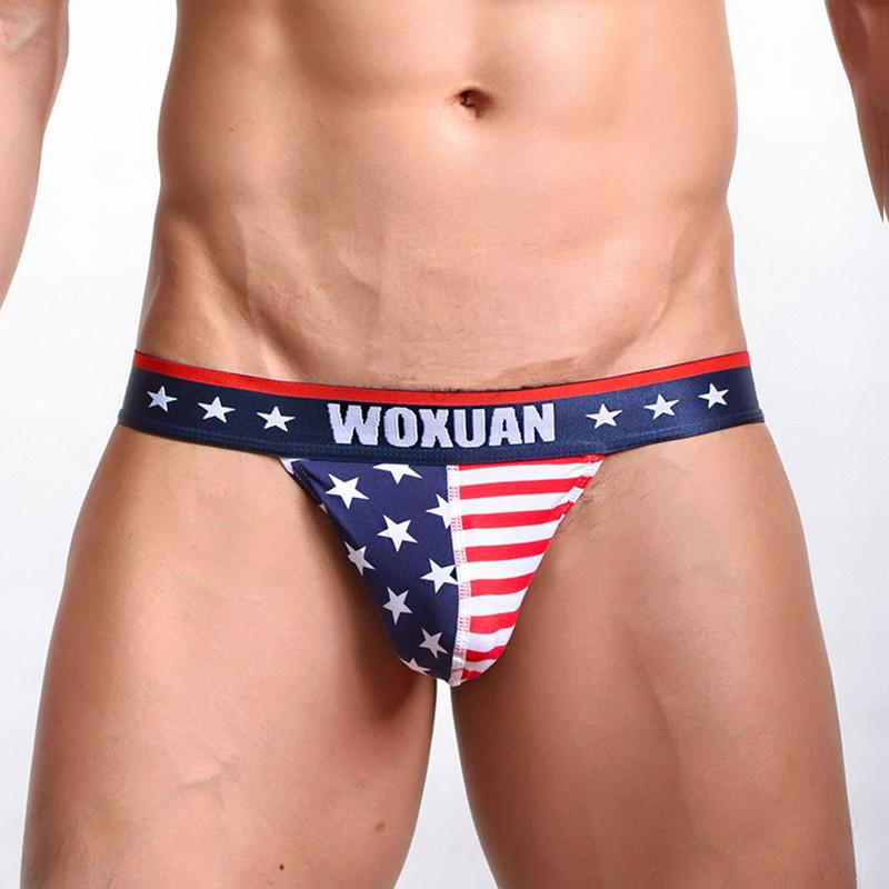 Плавки с американским флагом Woxuan