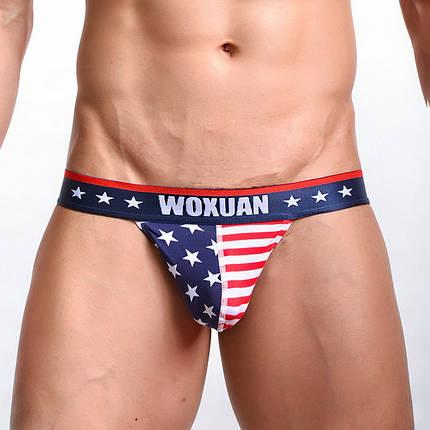 Плавки с американским флагом Woxuan, фото 2
