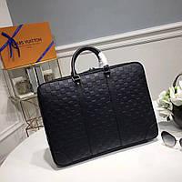 18f2ead6109a Мужской портфель Louis Vuitton Porte Documents Jour Onyx, цена 11 ...
