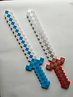 Алмазный меч Майнкрафт со звуковыми и световыми эффектами, фото 1