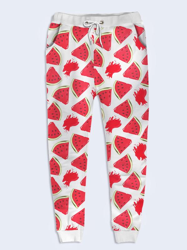 Женские брюки Арбузные дольки