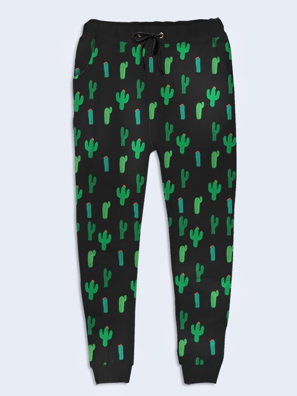 Женские брюки Кактусы