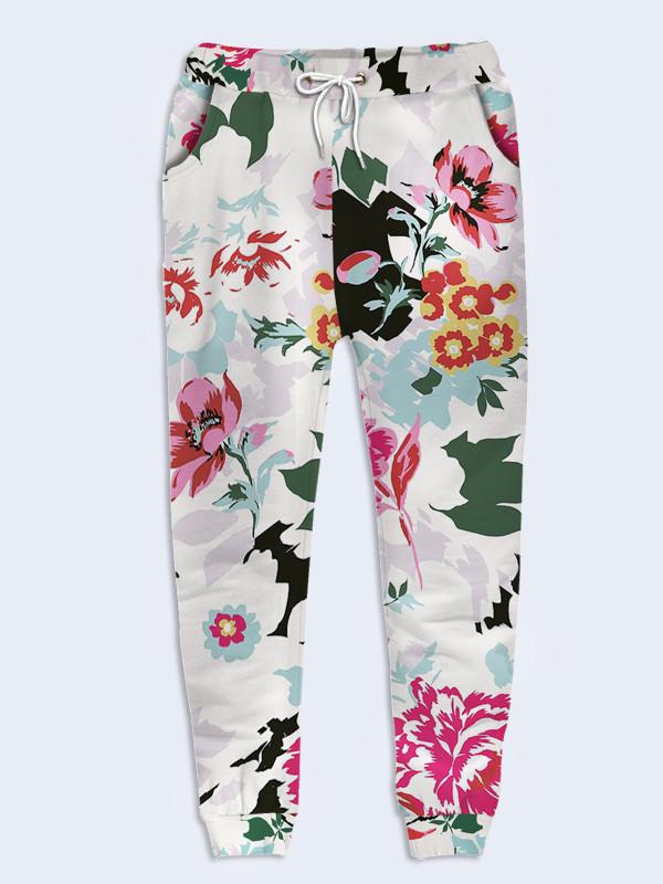 Женские брюки Spring flowers