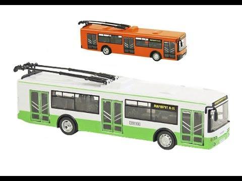 """Троллейбус инерц. 9690CD """"АВТОПРОМ"""