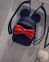 """Детский рюкзак для взрослых """"Mickey"""" черный"""