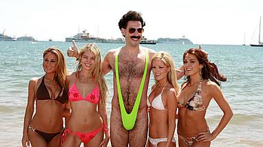 Стринги высокие через плечо Borat, фото 2