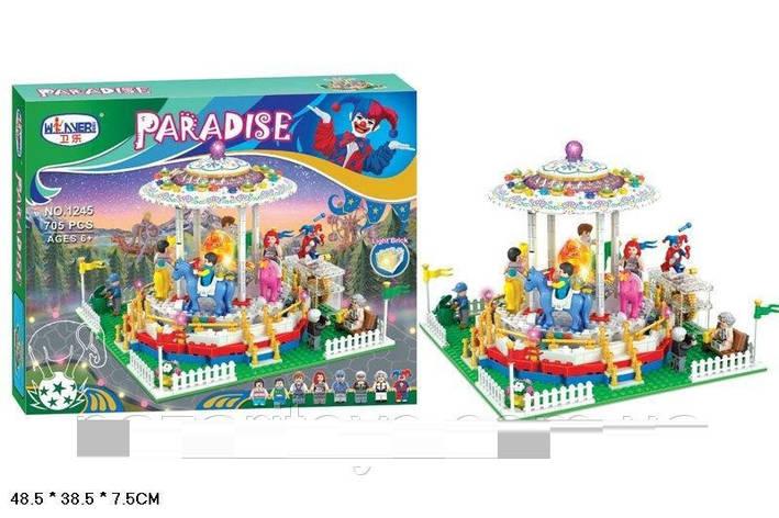 Детский конструктор Winner Paradise 705 дет, фото 2