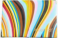 Обложка на паспорт «Ералаш-Радуга» разноцветная