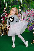 """Платье для девочки Baby Doll"""" с пайетками"""
