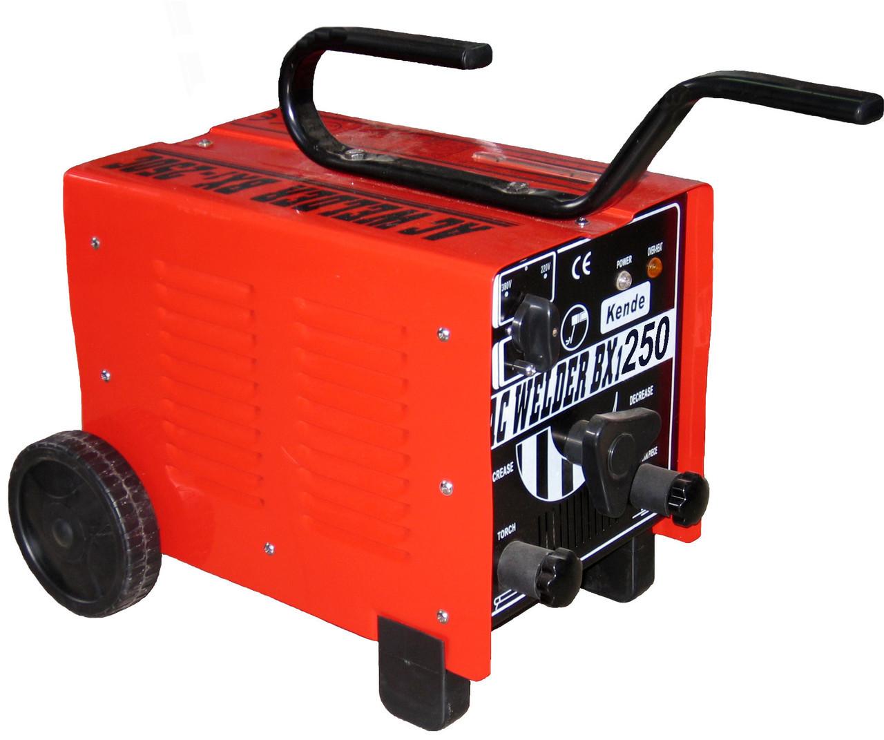 Сварочный аппарат (мощность выходного тока-250 А, напряжение-220 В/380