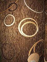 Шенилл Турин коричневый обивочная ткань