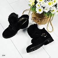 Зимние женские ботинки 36 38