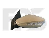 Зеркало левое электро без обогрева с указателем поворота без подсветки Hyundai Sonata 2010-14