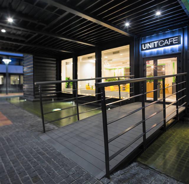 Кафе из морских контейнеров UNIT CAFE 1
