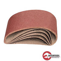 Intertool BT-0410 Лента шлифовальная 75х533 Р 100, 10 шт.(50/1)