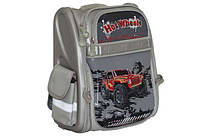 Рюкзак ʺWillyʺВилли WL-828 ʺТачкиʺ каркасный, серый