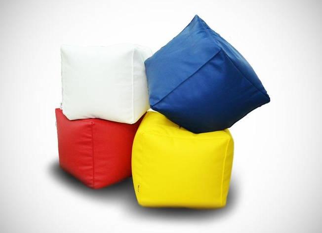Пуфики (белый, синий, красный, желтый), цена за шт., фото 2