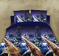 """Двуспальное Евро постельное бельё на официальном сайте """"Бурная ночь""""."""