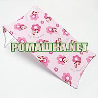 Горка в детскую ванночку для купания новорожденного махровая (трикотажная) Польша 0058 Розовый