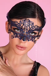 Карнавальная маска Livia Corsetti синяя
