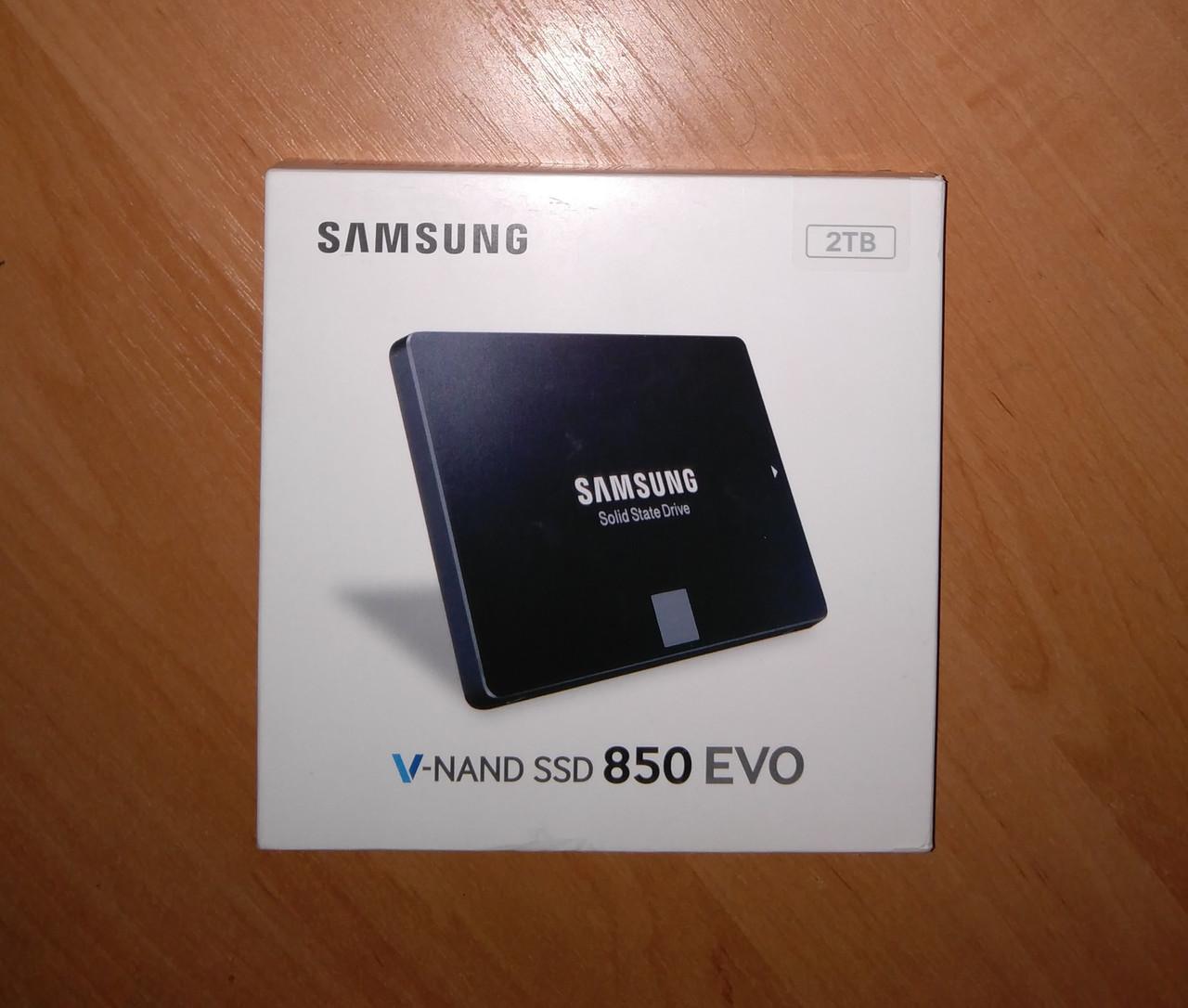 SSD накопитель Samsung 850 EVO MZ-75E2T0B