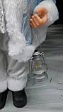 Дед Мороз в голубом 46 см, фото 4