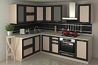 """Кухня """"Адель Дуб Венге"""".Модульная кухня за 5-10 дней. Посекционно. Со склада. От 3200 .Акция !"""