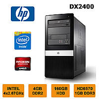 HP Compaq DX2400 - 4x2.67GHz /4GB RAM /Radeon HD6570 1GB /160GB HDD