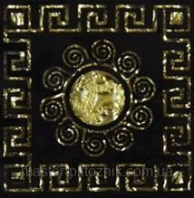 Вставка напольная Grand Kerama Tako 6,6x6,6 Византия золото