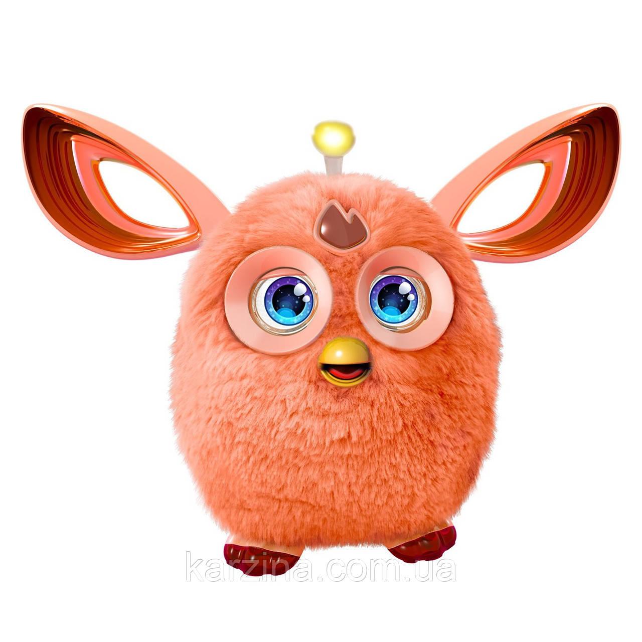 Furby Connect Русскоязычный Ферби Коннект Коралловый/Оранжевый Hasbro