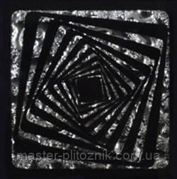 Вставка напольная Grand Kerama Tako 6,6x6,6 Квадрат платина