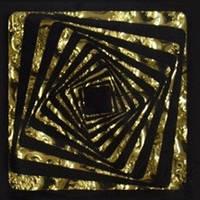 Вставка напольная Grand Kerama Tako 6,6x6,6 Квадрат золото