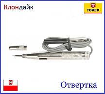 Отвертка-индикатор TOPEX 39D081