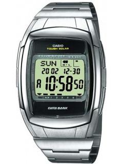 Мужские часы Casio DB-E30D-1AVEF серебристые с солнечным аккумулятором