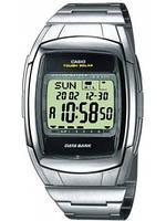 Мужские часы Casio DB-E30D-1AVEF серебристые с солнечным аккумулятором, фото 1