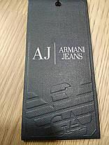 Шапка унисекс ARMANI JEANS D-359 темно-серая, фото 2